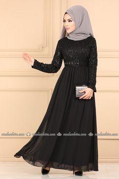 Tesettür Abiye - Tesettür Abiye Elbiseler ve Fiyatları Sayfa 7 Satin, Dresses With Sleeves, Long Sleeve, Collection, Style, Fashion, Swag, Moda, Sleeve Dresses