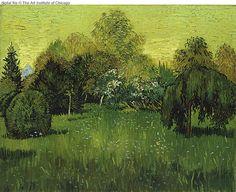 Vincent van Gogh: The Oil Paintings: The Poet's Garden. Arles: September, 1888