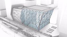 Arquitectura extensible. Centro artístico The Shed en construcción | Arquitectura