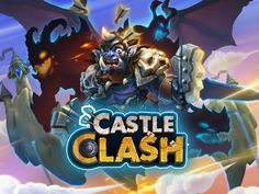 Castle clash game logo
