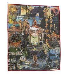 Beautiful digital printed blanket based on the famous Danish poet H. Andersen story the little mermaid, hand made in Spain Hans Christian, The Little Mermaid Story, Blankets For Sale, Digital Prints, Fairy Tales, Cushions, Mermaid Blanket, House Design, Handmade Art