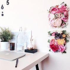 Need it Now! Small Business Series: Flower Flower on the Wall - All Things Pretty
