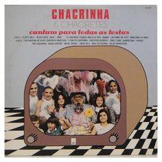 """#Chacrinha & #Chacretes """"Cantam Para Todas as Festas""""  - #vinil #vinilrecords #temas"""