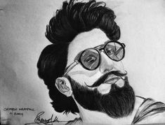 #pintrest    #instalike  #instagood #instasketch  #ranveersingh #ranveersketch #charcoalpencil #charcol #charcolsketch #sketches #art  #celebrity #celebritysketch #beard #saurabh_ry