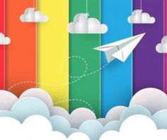 Rainbow Stage spotlights vector background 05 free download Stage Spotlights, Cartoon Clouds, Paper Plane, Vector Background, Rainbow, Creative, Free, Color, Rain Bow