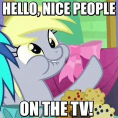 Equestria Daily derpy  breaking the 4th wall