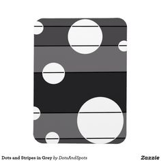 Dots and Stripes in Grey Magnets