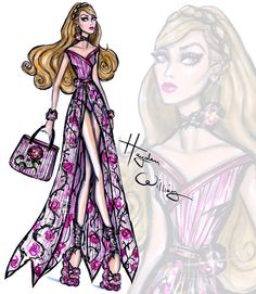 DisneyDivas 'Beach Beauties' by Hayden Williams: Aurora