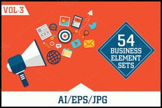 Business Elements Sets Vol - 3 by Allies Interactive on @creativemarket