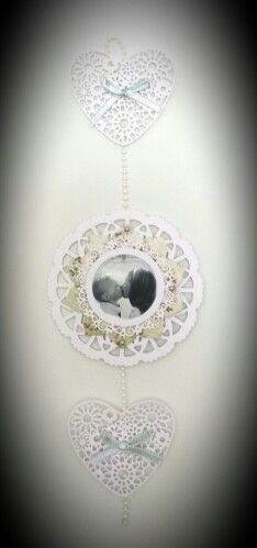 Couture Creations DT project : wall hanging by Amanda Baldwin