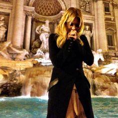 Ashley Benson Trevi Fountain - Rome