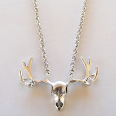The Huntsman: Really cool silver-tone stag's head necklace. Get yours from eleanorhalljewellery.com Stag Head, You Got This, Arrow Necklace, Silver, Jewelry, Jewlery, Jewerly, Deer Heads, Schmuck