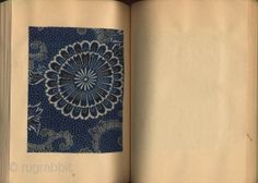 "Japan | A rare book titled ""Katazome"" with 84 antique fragments of textiles, mainly printed by katazome (stencil), from the Meiji and Taisho periods. Edition of 300.   Published by Shikosha, Kyoto, in 1976."