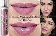 Rose lilac no.11 seventeen all day lip colour