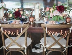Berry & Blue Fall Vineyard Wedding – Inspired by This                                                                                                                                                                                 More