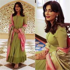 @adah_ki_adah Sari - VRK Silks Styled by - @cpauleen #bollywood #style #fashion #beauty #bollywoodstyle #bollywoodfashion #indianfashion… Ethnic Outfits, Indian Outfits, Fashion Outfits, Style Fashion, Fashion Beauty, Salwar Designs, Blouse Designs, Indian Attire, Indian Wear