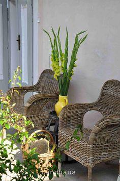Wicker, Garden Design, Chair, The Originals, Furniture, Home Decor, Farmhouse, Decoration Home, Room Decor