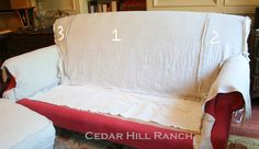 My Slipcovering Tips - Cedar Hill Farmhouse