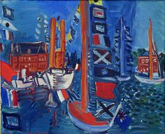 Raoul Dufy - At the Harbour | Flickr - Photo Sharing!