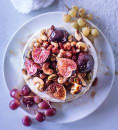 Pähkinä-viikuna-uunibrie