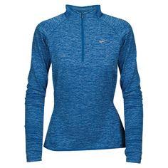 Nike Dri-FIT Element Sphere 1/2 Zip - Star Blue/Heather/Light Blue/Reflective Silver