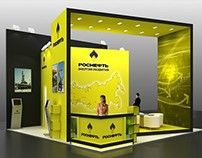 Rosneft exhibition stand