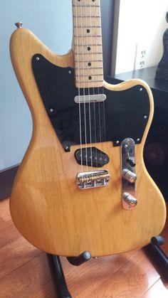 Custom-made Telecaster (Telemaster/Jazzcaster) #guitar #partstcaster #gear…