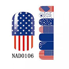 1-Pc Satisfaction Popular Fashion New Nail Art Sticker Non-toxic Tool Water Transfer Pedicure Wraps Color Type NAD0106 * To view further for this item, visit the image link.