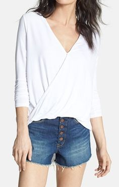 Surplice knit top - so comfy! http://rstyle.me/n/f3suynyg6