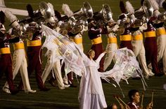 """2011 Cadets award-winning show """"Between Angels and Demons"""" - the happy part!"""