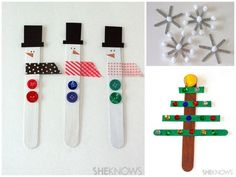 Popsicle Stick Ornaments | 36 Adorable DIY Ornaments You Can Make With The Kids