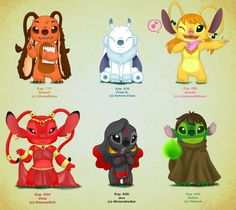 Experiments Chart 1 by Kahimi-chan on DeviantArt Disney Drawings, Cute Drawings, Disney Love, Disney Art, Lilo En Stitch, Lilo And Stitch Tattoo, Lilo And Stitch Characters, Movie Characters, Lilo And Stitch Experiments