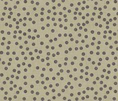 burlap_dots fabric by holli_zollinger on Spoonflower - custom fabric