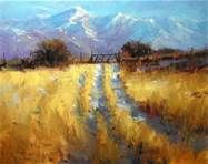 Mountain Track Painting - The Complete Artist Oil Painting Lessons, Acrylic Painting Techniques, Art Techniques, Impressionist Paintings, Impressionism, Landscape Art, Landscape Paintings, Landscapes, Paintings I Love