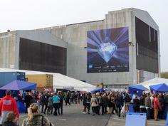 Die Ticket-only-Zone vor der B+W Hallerne in Kopenhagen (59. Eurovision Song Contest 2014).