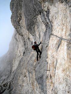 Bergheimat: ' Adlersteig ' auf den Karkopf