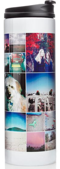 Shutterfly stainless steel photo travel mug  Ends -  4/28/13 @ 11:59pm