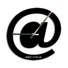 Designer wall clocks Wall clocks At sign wall by ModernWallClock, $41.88