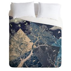 Belle13 To The Sky Duvet Cover   DENY Designs Home Accessories