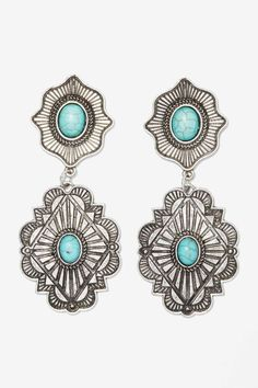 High Plains Concho Earrings » My style!