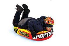 HeatSeeker Downhill Inflatable Snow Sled  $36.95