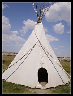 Native American Teepee by swirey, via Flickr
