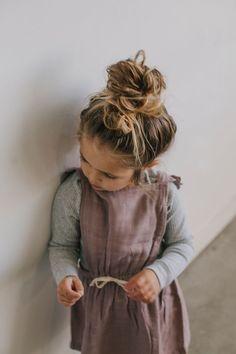 Little Girl Fashion, Toddler Fashion, Kids Fashion, Fashion Hair, Fashion 2020, Winter Fashion, Book Bebe, Little Doll, Kid Styles