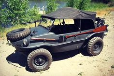 itstactical:  1943 VW Schwimmwagen on Cool Material