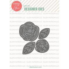 Ellen Hutson LLC - Essentials by Ellen Designer Dies, Bold Blossom Stand-Alone…