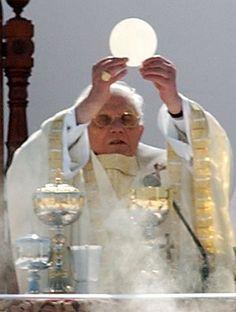 Canonización de Frei Galvão fraile brasileño celebrada por el Papa Benedicto XVI en el Campo de Marte en Sao Paulo, Brasil. Foto de Fabio Pozzebom/ABr #miercolesretratos #EnciclopediaLibre