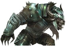 Charr Heritage Armor from Guild Wars 2