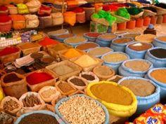 moroccan spice market | magical morocco | pinterest | moroccan
