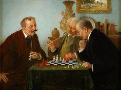 Hans August Lassen - The Chess Game