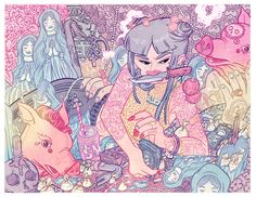 Colorful and Detailed Illustrations by Kirsten Rothbart  |  ILLUSTRATION AGE